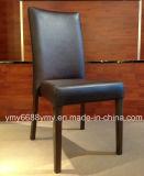 Silla imitada madera caliente del restaurante de la silla del banquete de la pierna de la venta