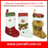 Чулок украшения рождества (ZY11S142-1-2) изготовления носка Xmas Chritmas