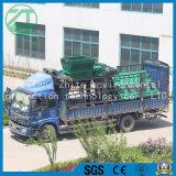 不用なプラスチックか多機能かタイヤまたはプラスチックシェルまたはリサイクルするガーベージ屑鉄または台所不用な単軸の二軸のシュレッダー機械製造業者