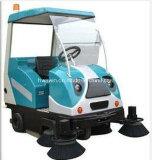 Machine Factory Entrepôt Electric Industrial Sweeper à vendre