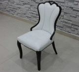 Roble Wood con Leather Dining Chair Hotel Dining Chair (M-X1017)
