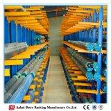 Fornecedor estrutural Cantilever da cremalheira do lado resistente do dobro do armazenamento da tubulação de aço