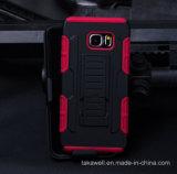 Caixa combinado por atacado da armadura da alta qualidade PC+Silicone de China para o caso da tampa do telefone de pilha da galáxia S7 S6 S5 S4 de Samsung