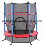 55 '' крытый миниый Trampoline с сетями безопасности, игрушка пригодности малышей