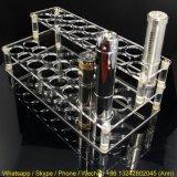 Ясный акриловый стеллаж для выставки товаров пер/сигареты