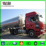 トレーラー42000リットルの燃料のタンカーの、石油タンカーのトラックのアルミニウム燃料タンク