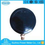 150mm schwarzes Stahlfall-Qualitäts-Druckanzeiger-exaktes Manometer
