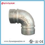 Coude Grooved de l'ajustage de précision de pipe 90 (165.1) avec FM/UL reconnu