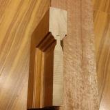 Morden puerta de madera de diseño de interiores de la piel Puerta de madera
