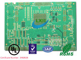 PWB da placa de circuito impresso do ouro da imersão de 6 camadas com controle de Impendance