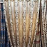 Занавес окна ткани полиэфира высокого качества просто