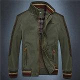 Средств куртка ворота стойки хлопка типа для одежд человека
