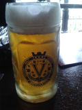 ビールのジョッキ広告ガラスコップ(任意選択デザイン)