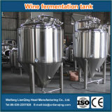 Réservoir de fermentation à vin en acier inoxydable / Réservoir de fermentation à la bière de qualité alimentaire