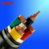 0,6 / 1 kV Conductor de cobre de PVC o XLPE Cable de alimentación con aislamiento