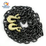 Hardware marino Parte Welded Steel Short Link Chain per Lifting