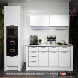 2016年のWelbomの現代高品質PVCモジュラー木製の台所