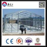 Atelier de structure métallique de modèle de construction (BYSS011401)