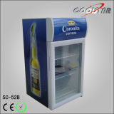 Étalage en verre d'étalage de porte de qualité pour les boissons (SC52B)
