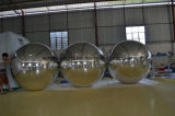 Belüftung-aufblasbare Kristallkugel-aufblasbare Spiegel-Kugel-aufblasbarer Spiegel-Ballon