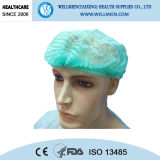 Nichtgewebter chirurgischer Wegwerfdoktor Cap mit Gummiband