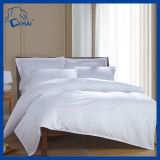 200tc綿のサテンの縞のホテルのシーツ(QHADE009545)