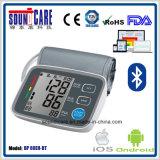 互換性のあるISO 4.0 (U80EH-BT)の2017年のBluetoothの血圧のメートル