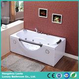 Vasca da bagno poco profonda del mulinello di massaggio con TUV approvato (CDT-002)