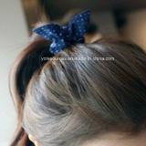 Print DOT Rope Rabbit Ears-Lovely Hair Band, Anel de cabelo