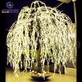 Willow illuminato Tree Real Look Trunk LED Indoor fuori Door Artificial Christmas Tree Lights