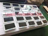 10のスーパーマーケットの買物車のデジタル表記のためにプレーヤーを広告する12インチLCDの表示