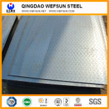 placa Chequered do aço de carbono Q235 de 1250mm