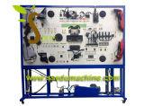 Differenzial und Wellen-Training steht Berufsausbildungs-Geräten-didaktisches Gerät