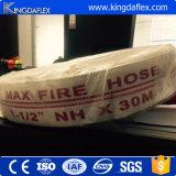 mangueira de incêndio do PVC de 65mm, preço do carretel da mangueira de incêndio, tubulação de mangueira do incêndio da lona do PVC