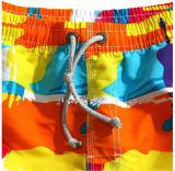 Venda Por Atacado Newstyle Hotsales Customized Micro Fibra Twill Beach Shorts