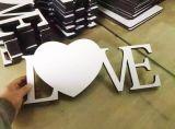 Cortadora de madera del laser de los artes del papel de invitación de boda del precio de fábrica de Shandong