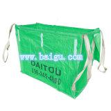 緑ファブリックが付いているPPの大きいバルク袋