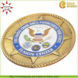3D Custom Metal Enamel Navy Challenge Coins