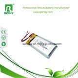 Bateria pequena do tamanho 401030 3.7V 80mAh Lipo para auriculares de Bluetooth