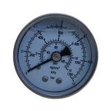 type de dos coloré par 2inch-50mm d'acier inoxydable de plaque de cadran plein indicateur de pression de vide avec de la glycérine ou l'huile de silicone