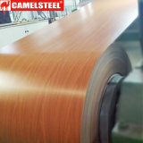 Correctamente bobinas de madera decorativas del precio PPGI/PPGL