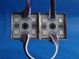 O RGB 5050 4 microplaquetas IP65 Waterproof o módulo do diodo emissor de luz de SMD