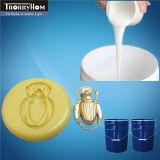 Blanc à faible viscosité silicone Rubbers Mold pour Résine Artisanat