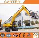 Excavatrice lourde multifonctionnelle de pelle rétro de chenille de Carter CT220-8c (22Ton)