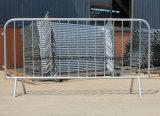 Барьер толпы управлением металла горячего DIP гальванизированный дешевый