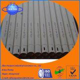 Tubo refractario de alta temperatura del alúmina o rodillo de cerámica del alúmina para el horno industrial