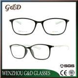 Optische Frame van het Oogglas Eyewear van Ultem van het Ontwerp van de manier het Plastic met Tempel 8009 van de Vezel van de Koolstof