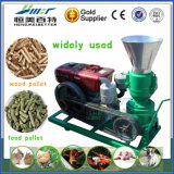 Fabricante em escala reduzida para o moinho da pelota de combustível da alimentação de galinha da serragem