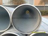 Quellfilter-Gefäß/Draht-Eingewickeltes Edelstahl-Bildschirm-Rohr