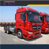 De Vrachtwagens van de Tractor van Benz van het noorden V3, 6x4 de Vrachtwagens van de Tractor 100ton van 480HP